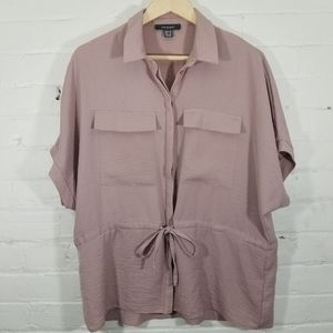 Primark Pink Oversized Utility Blouse